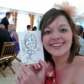 Place Name or Table Setting Caricature by Luke Warm